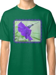 A Purple Petunia on the Porch Classic T-Shirt