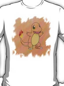 Watercolour Charmander T-Shirt