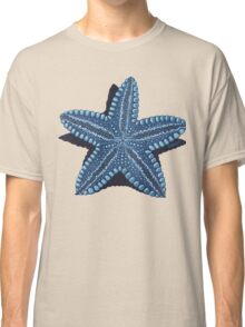 Starfish in blue - acrylic painting Classic T-Shirt
