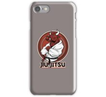 Jiu Jitsu Bull iPhone Case/Skin