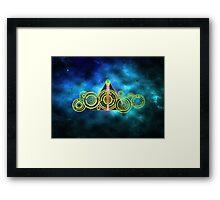 The Doctor's Hallows Framed Print