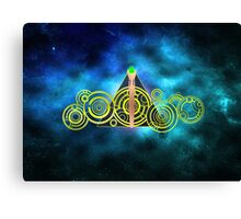The Doctor's Hallows Canvas Print