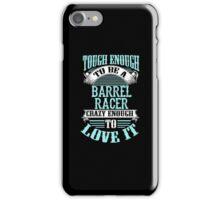 BARREL RACER iPhone Case/Skin