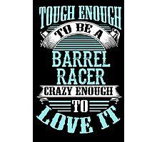 BARREL RACER Photographic Print