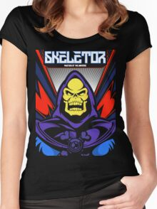 The Skeletor Women's Fitted Scoop T-Shirt
