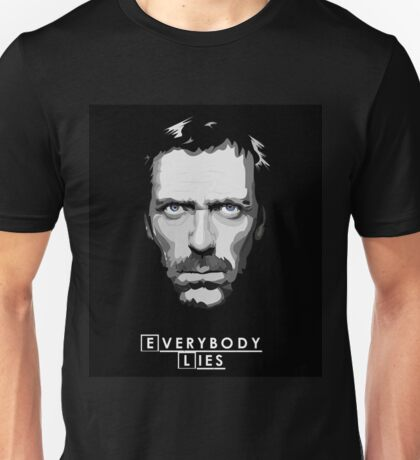 House M.D. - Everybody Lies Unisex T-Shirt