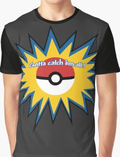Pokeball splat Graphic T-Shirt