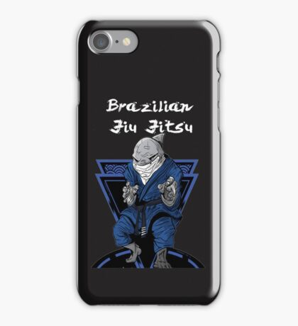 Brazilian Jiu Jitsu Shark iPhone Case/Skin