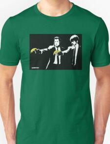 Banksy - Pulp Fiction Banana Guns Unisex T-Shirt