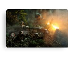 Star Wars Empire AT War jungle city Canvas Print