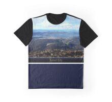 *Hobart City - Mt Wellington Vista* Graphic T-Shirt