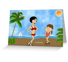 He Whistled At Me, Mommy Greeting Card