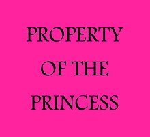 Property of the Princess - Tote Bag or Pillow by Homeschooling