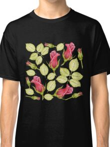 pattern with roses Classic T-Shirt