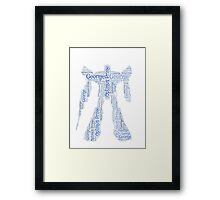 George Transformers 'Optimus Prime' Word Art  Framed Print