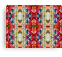 Macro Sprinkles Pattern Canvas Print