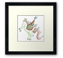 Nature Pegasus Framed Print