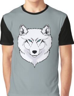 Blue eyes snow wolf Graphic T-Shirt
