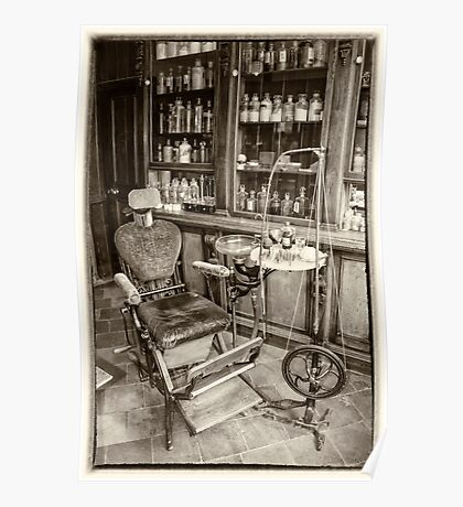 The Old dentists chair  Poster