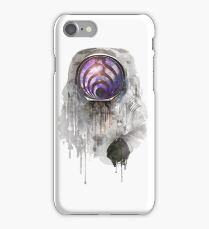 apollo 11 bass head iPhone Case/Skin