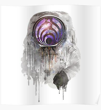 apollo 11 bass head Poster