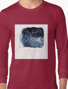 Sagittarius Zodiac Constellation  Long Sleeve T-Shirt