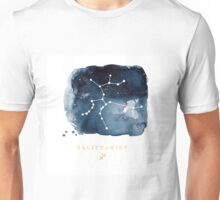 Sagittarius Zodiac Constellation  Unisex T-Shirt