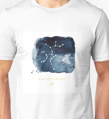 Sagittarius Zodiac Constellation  Unisex T-Shirt