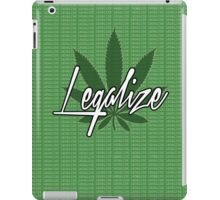 legalize The Weed iPad Case/Skin