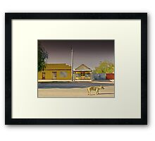 The Last to Leave Framed Print