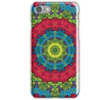 Psychedelic LSD Trip Ornament 0011 iPhone Case/Skin
