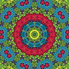 Psychedelic LSD Trip Ornament 0011 by Andrei Verner