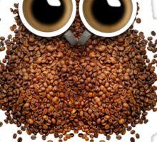 Barista Coffee Owl Sticker