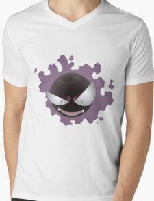 Gastly design Mens V-Neck T-Shirt