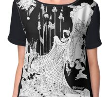 Great Expectations Chiffon Top