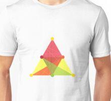 Crisscross Triangle Unisex T-Shirt