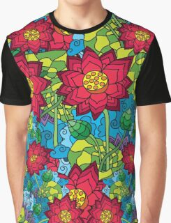 Psychedelic LSD Trip Ornament 0012 Graphic T-Shirt