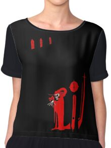 The Masque of the Red Death Chiffon Top