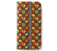 Oriental Flowers iPhone Wallet/Case/Skin
