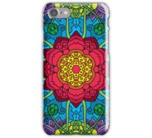 Psychedelic LSD Trip Ornament 0014 iPhone Case/Skin