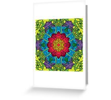 Psychedelic LSD Trip Ornament 0014 Greeting Card