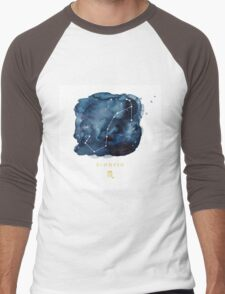 Scorpio Zodiac Constellation Men's Baseball ¾ T-Shirt