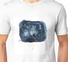 Taurus Zodiac Constellation Unisex T-Shirt