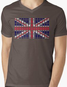 Tardis Jack Mens V-Neck T-Shirt