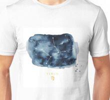Virgo Zodiac Constellation Unisex T-Shirt