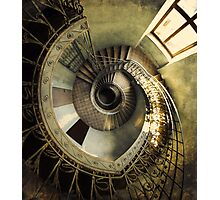 Spiral staircase in pastels Photographic Print