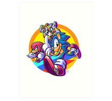 Sonic Mania Art Print