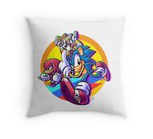 Sonic Mania Throw Pillow