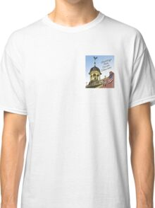 Delaware's Old State House Steeple Greetings Classic T-Shirt