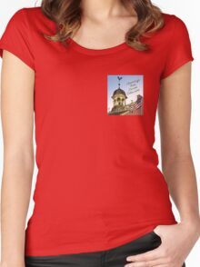 Delaware's Old State House Steeple Greetings Women's Fitted Scoop T-Shirt